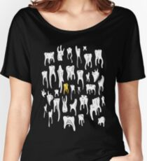 Tooth or Dare, Bold Illustration Women's Relaxed Fit T-Shirt