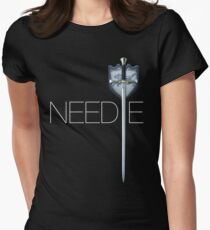 Needle From Game Of Thrones Womens Fitted T-Shirt