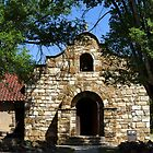 Old Fort Stanton Church (1850's) by © Loree McComb