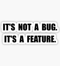 Bug Feature Sticker