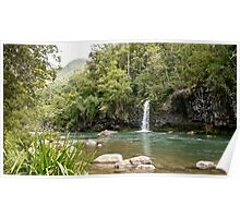 Tully River Waterfall Poster