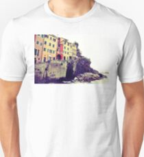 Manarola, Liguria, Italy T-Shirt