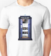 who addicts reviews- inside the Tardis Unisex T-Shirt