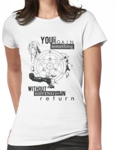 Alchemy's Law Womens Fitted T-Shirt