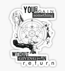 Alchemy's Law Sticker