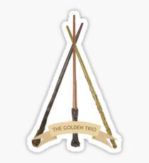 The Golden Trio Sticker