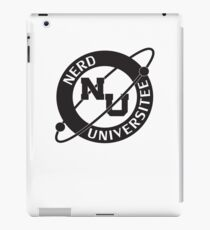 Nerd Universitee iPad Case/Skin