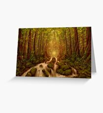 Divine Encounter Greeting Card