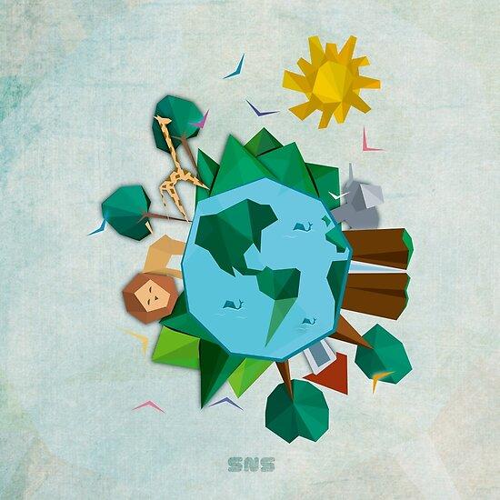 World by snsdesign