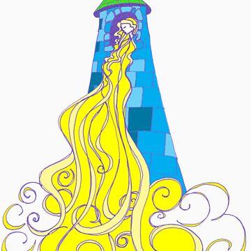 Rapunzel by Aryahvayu