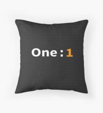 Koenigsegg One:1 Throw Pillow