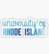 University of Rhode Island Sticker