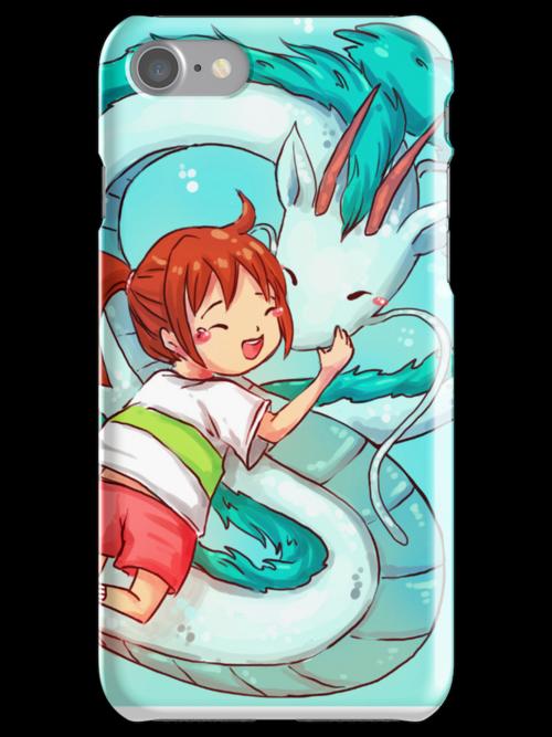 Spirited Away phone case  by michelledraws