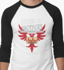 Brawling Brothers Design 2 Men's Baseball ¾ T-Shirt