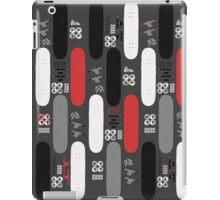 Skateboard Assembly Pattern (GRB) iPad Case/Skin