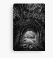 Railway Tunnel Canvas Print