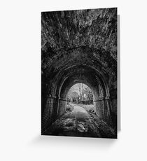 Railway Tunnel Greeting Card