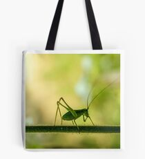 cricket in green  Tote Bag