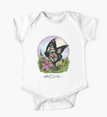 Butterfly Serenity One Piece - Short Sleeve