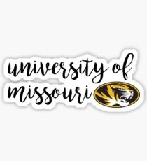 University of Missouri/Mizzou Sticker