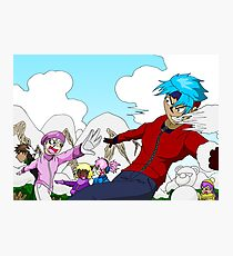Raiden Legacy - Snowball Fight Photographic Print