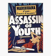 Marihuana Assassin of Youth Photographic Print