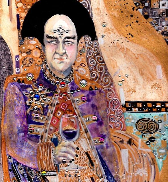 seeing - Klimt Londo Mollari by ladyyatexel