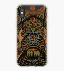 Big Bronze Owl iPhone Case