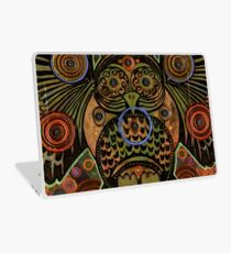 Big Bronze Owl Laptop Skin