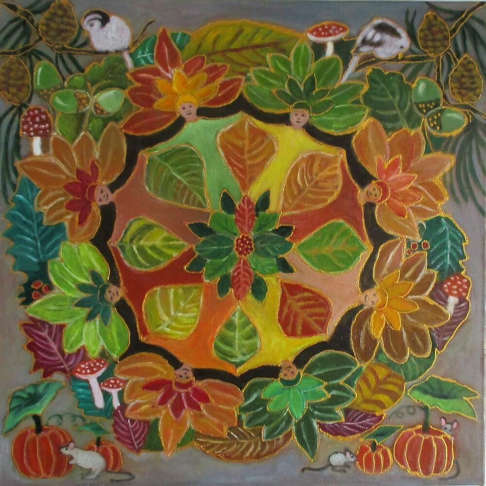 Autumn mandala. by gloria47