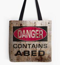 DANGER! Contains nerd Tote Bag