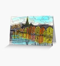 Trondheim, Norway Greeting Card