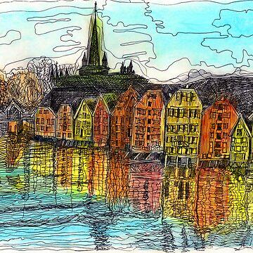 Trondheim, Norway by olem
