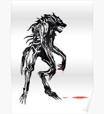 cyber werewolf Poster