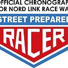Vintage racing chronograph logo 2 by streetprepared