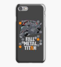 Fall Metal Titan iPhone Case/Skin