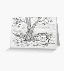 Poygan Payment Tree Greeting Card
