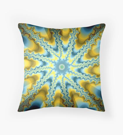 Abstract Modern Art Throw Pillow