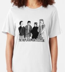 The Replacements Stink Slim Fit T-Shirt