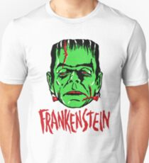 FRANKENSTEIN - Vintage 1960's Style! Slim Fit T-Shirt