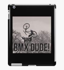 BMX DUDE! iPad Case/Skin