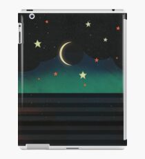 Abstract Moonscape iPad Case/Skin