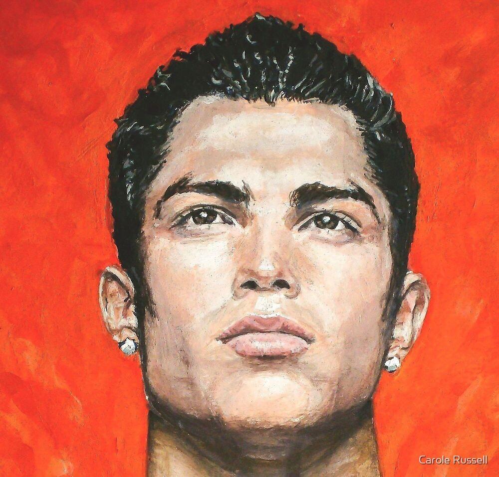Cristiano Ronaldo by Carole Russell