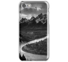 Ansel Adams - Grand Tetons and Snake River iPhone Case/Skin