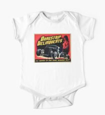 Drag Strip Delinquent   One Piece - Short Sleeve