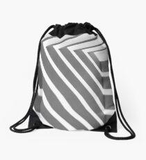 Geometric shadows Drawstring Bag