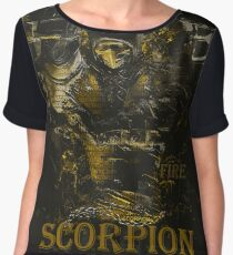 Mortal Kombat Scorpion get over here Chiffon Top