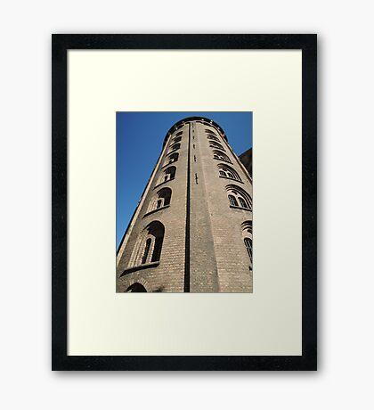 The Round Tower: Copenhagen Framed Print