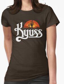 Kyuss Black Widow Womens Fitted T-Shirt