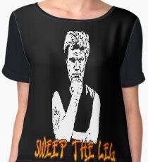 Karate Kid: Sweep the Leg! Chiffon Top